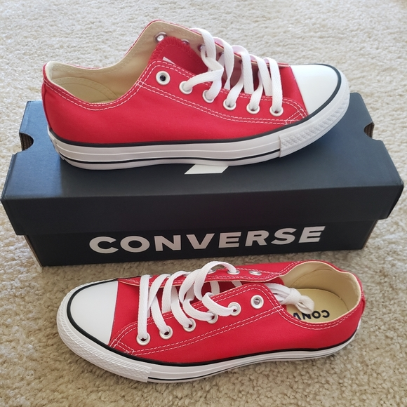 shades of quality products the sale of shoes Converse All Star Ox Red (Men's 6/Women's 8) NWT